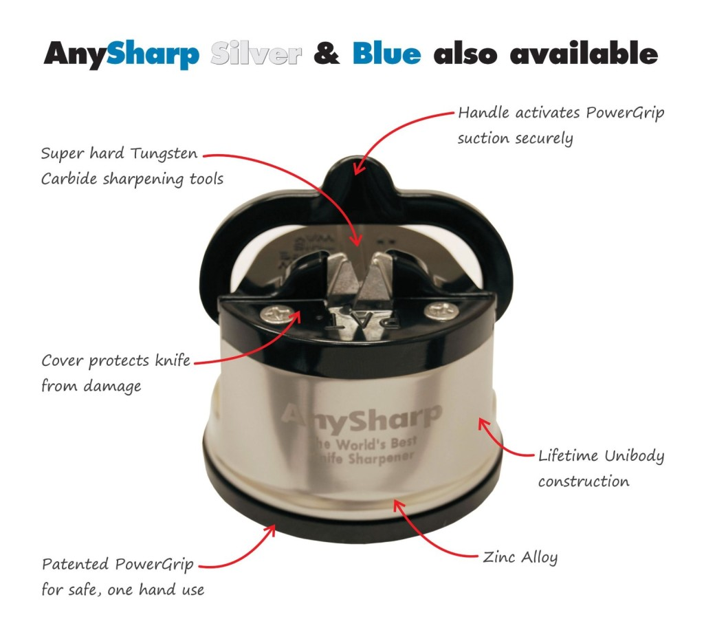 AnySharp Pro World's Best Knife Sharpener