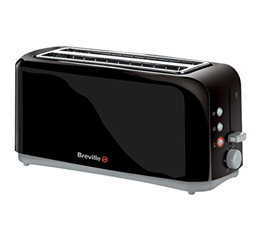 Breville VTT233 Black 4-Slice Toaster