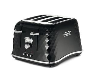 De'Longhi CTJ4003.BK 4-Slice Toaster