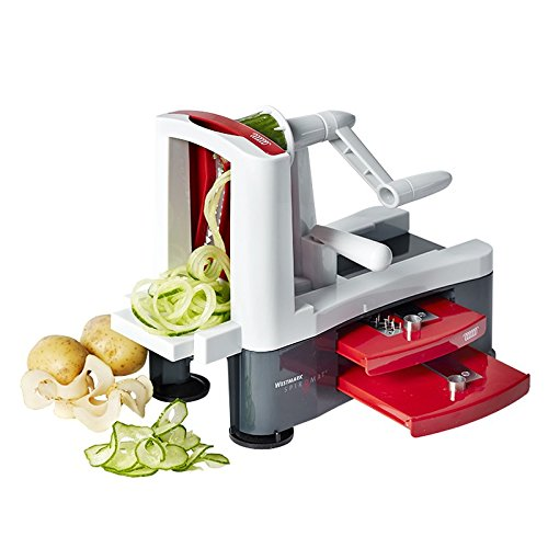 Westmark Spiromat 11332260 Vegetable Spiralizer