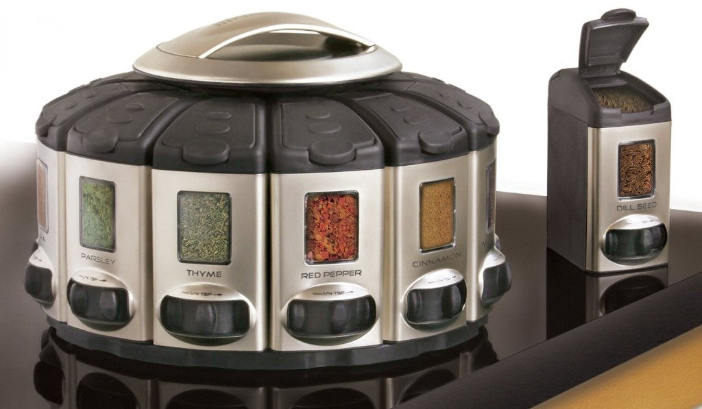 KitchenArt Pro Auto Measure Spice Carousel