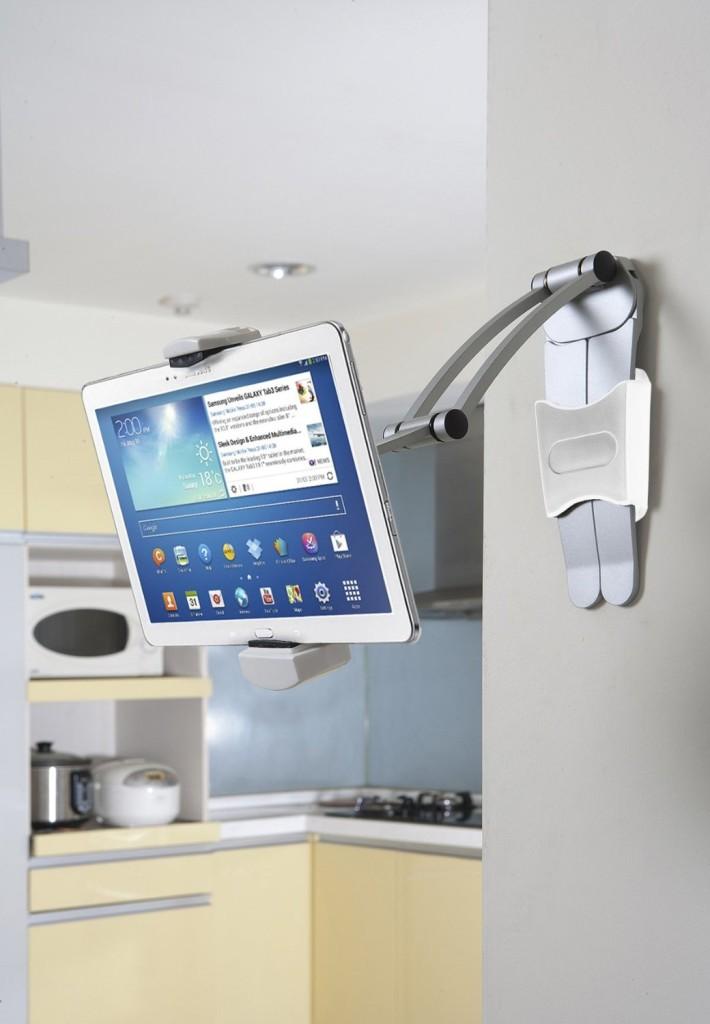 CTA Digital 2-In-1 Kitchen Mount Stand