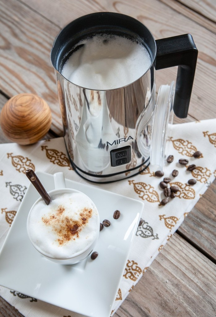 MIRA Automatic Electric Milk Frother Warmer